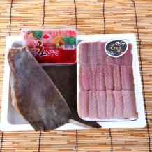 숙성 홍어+숙성 찜용 세트 1kg