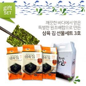 삼육 김 선물세트 3호(15gX15봉)